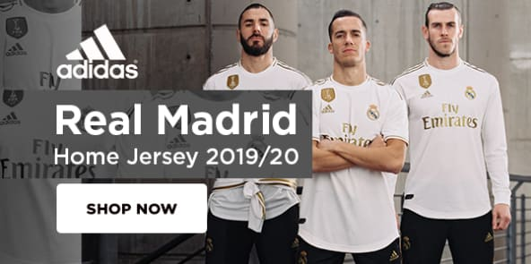 adidas Real Madrid Home Jersey 2019