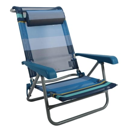 Natural Instincts Steel Recliner Beach Chair