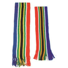 South African Flag Stripe Scarf