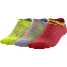 Nike Boys Graphic Cotton No Show Socks (3 Pack)