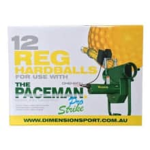 Paceman Pro Bowling Machine Balls (12 ball pack)
