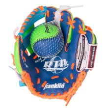 Franklin Teeball Recreational Glove  (9.5'') & Ball