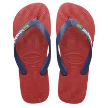 Havaianas Men's Brazil Logo Red Sandals