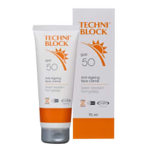 Techniblock SPF50  Face Cream 75ml