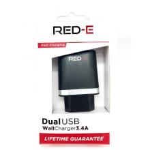 RED-E DUAL Wall Charger 3.4Amp