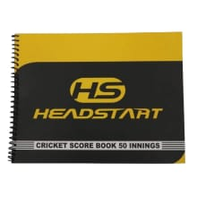 Headstart 50 Innings Scorebook