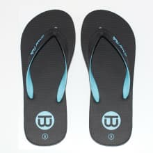 World Tribe Men's Supreme 3 Black Sandals