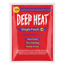 Deep Heat Pain Patch 1PC