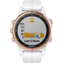 Garmin Fenix 5S Plus Sapphire - Rose Goldtone Multisport GPS Smartwatch