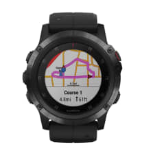 Garmin Fenix 5X Plus Sapphire Black Multisport GPS Watch
