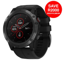 Garmin Fenix 5 X Plus Sapphire Black Multisport GPS Watch