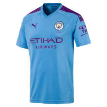 Man City Jnr Home Jersey 2019