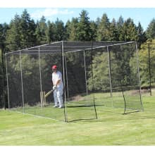 Home Ground FS5 Portable Domestic Cricket Net