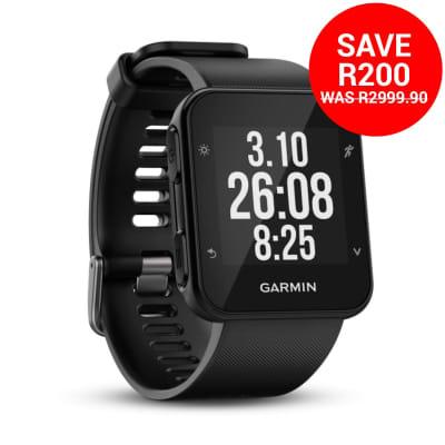 7abbfa1ce4b Garmin Forerunner 35 GPS Running Watch Discovery Miles