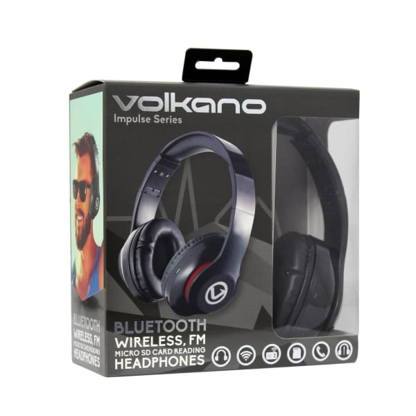 f3f51ca6f8a Volkano Impulse Bluetooth Headphones