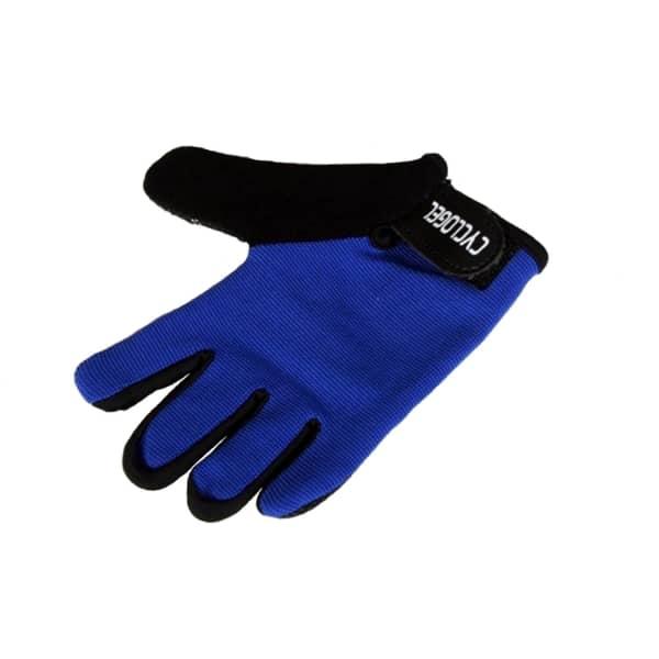 Sporting Goods Qualified Scott Rc Team Full Finger Cycling Gloves Gloves Blue