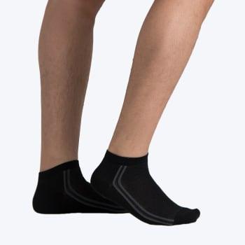 Falke Men's Side Stripe Liner Sock Size 8-12