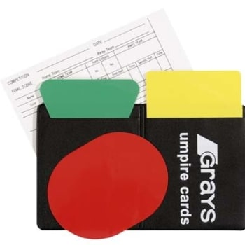 Grays Umpire Cards - Find in Store