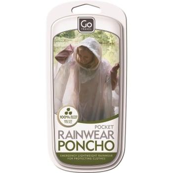 Design Go Travel Pocket Poncho