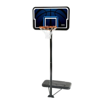 "Lifetime 44"" Basketball Backboard, Pole & Base"