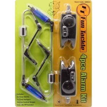 Carp Alarm Kit 2 Alarms + 2 Swingers - Sold Out Online