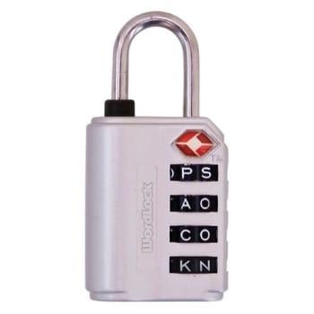 Wordlock 4-Dial Luggage Lock