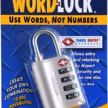 Wordlock 4-Dial Luggage Lock