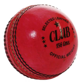 Headstart 156g 2PC Pink Leather Cricket Ball