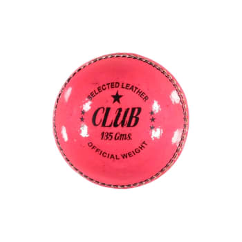 Headstart Pink Leather Two Piece Cricket Ball 135g