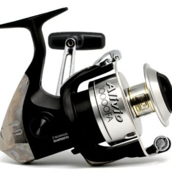 Shimano Alivio 10000FA Front Drag Spinning Reel - Sold Out Online