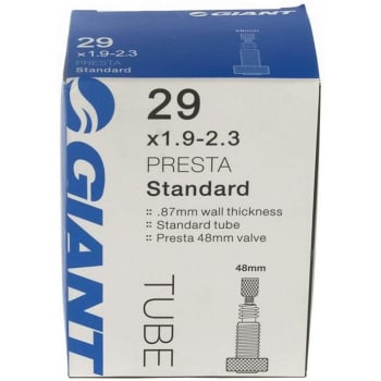 Giant 29 x 1.90-2.3 Tube with 48mm threaded Presta valve - Find in Store