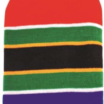 South Africa Flag Strip Beanie