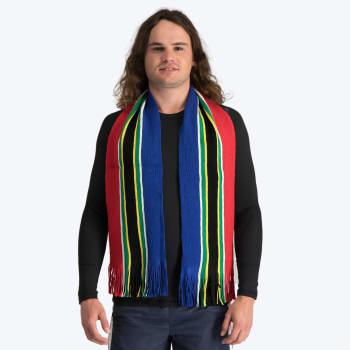 South African Flag Stripe Scarf