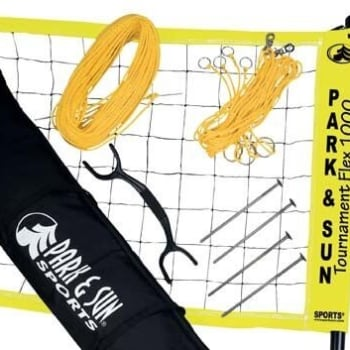 Park & Sun Flex 1000 Volleyball Set - Out of Stock - Notify Me