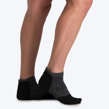 Injinji Run Lightweight No Show Sock (size S - L)
