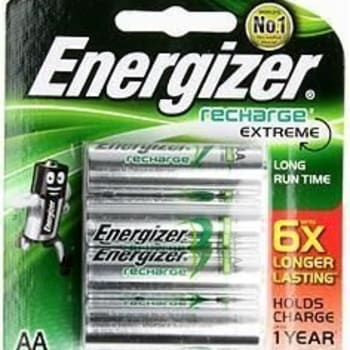 Energizer Recharge 4x AA (2300mAh) - Out of Stock - Notify Me