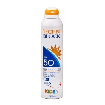 Techniblock SPF 50+ Kids 340ml Spray