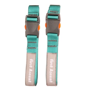First Ascent Webbing Strap Tie Down 1.5m  2 Piece set