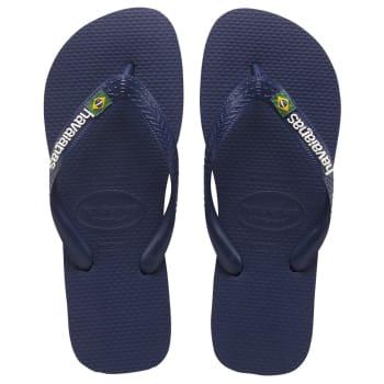 Havaianas Junior Brazil Logo Navy Sandal - Find in Store