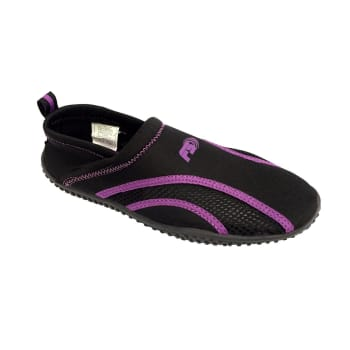 Aqua Women's Slip On Black/Sunset Purple Aqua Shoe - Sold Out Online