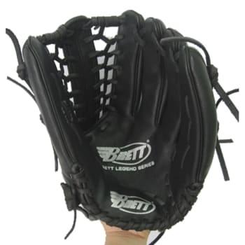 "Brett Legend Right hand Baseball glove 11.75"" (all leather cowhide)"