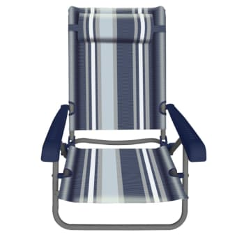 Natural Instincts Steel Recliner Beach Chair - Sold Out Online