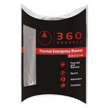 360 Degree Emergency Blanket - reflective - Find in Store