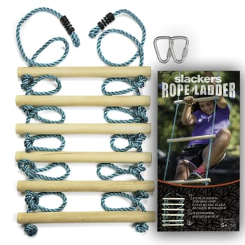 Slackers Ninja Rope Ladder - 8ft (2.43m) - Out of Stock - Notify Me