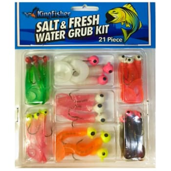 The Kingfisher Salt & Fresh Water Lure Kit - 21 Piece - Out of Stock - Notify Me