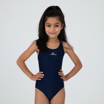 Second Skins Girls Basic Lycra Sprintback 1 Piece