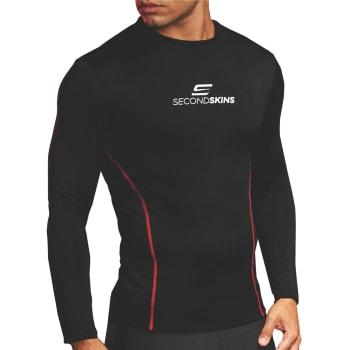 Second Skins Men's Keeps Warm Long Sleeve Baselayer Top