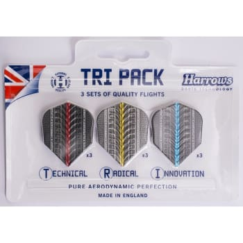 Harrows Tri-pack Supergrip Flights