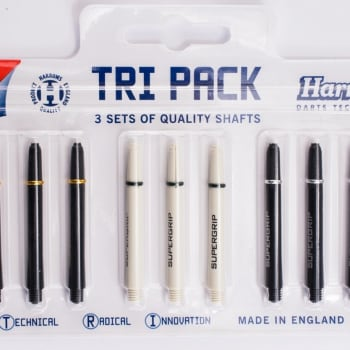Harrows Tri-Pack Supergrip pro shafts