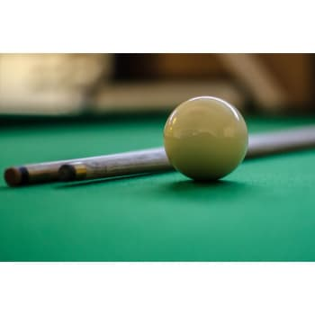 Hurricane White Cue Ball 7/8""